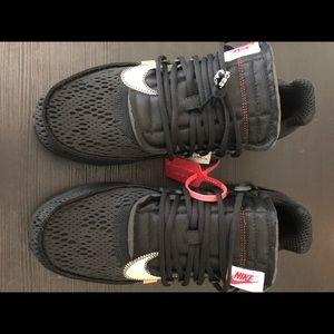 UA Off-White x Nike Presto Black